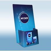 MY.SIZE Display Kondomguide - APO DIREKT