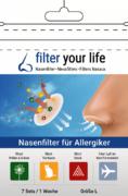 Filter Your Life® Größe L Nasenfilter